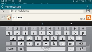 Как сделать клавиатуру на телефоне самсунг 654